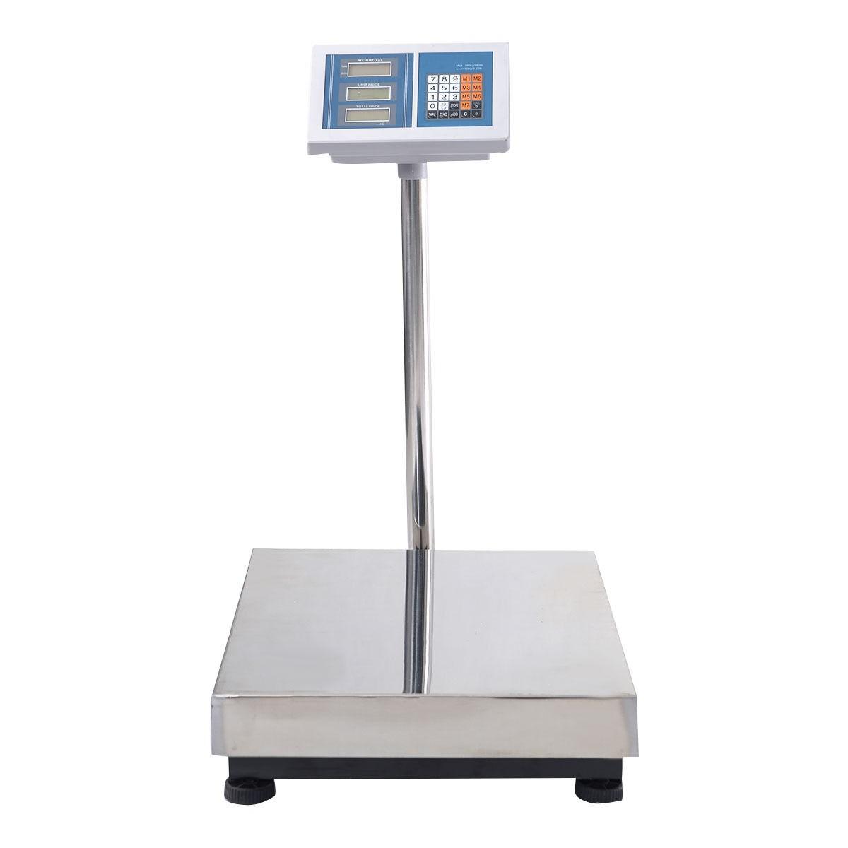 660lbs weight computing digital floor platform scale for Scale floor