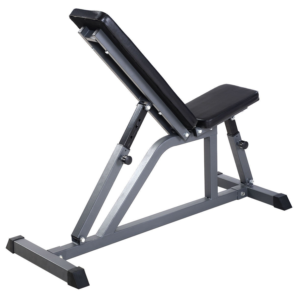 Adjustable Folding Sit Up Ab Incline Abs Bench Gym Home Fitness Workout Ebay