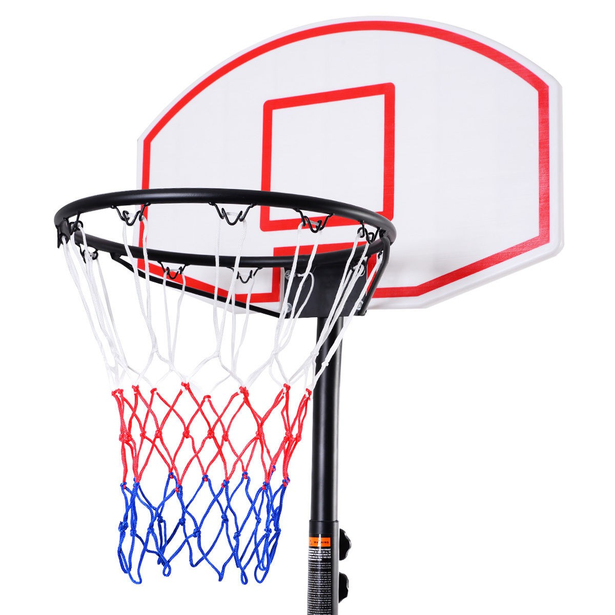 Adjustable Basketball Hoop System Stand Kid Indoor Outdoor