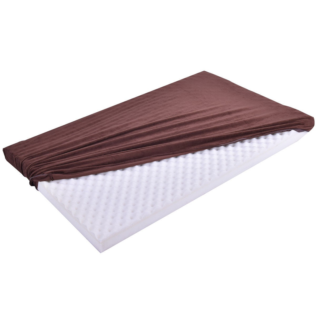 large memory velet foam pet bed dog cat puppy pad mat cushion w removable cover ebay. Black Bedroom Furniture Sets. Home Design Ideas