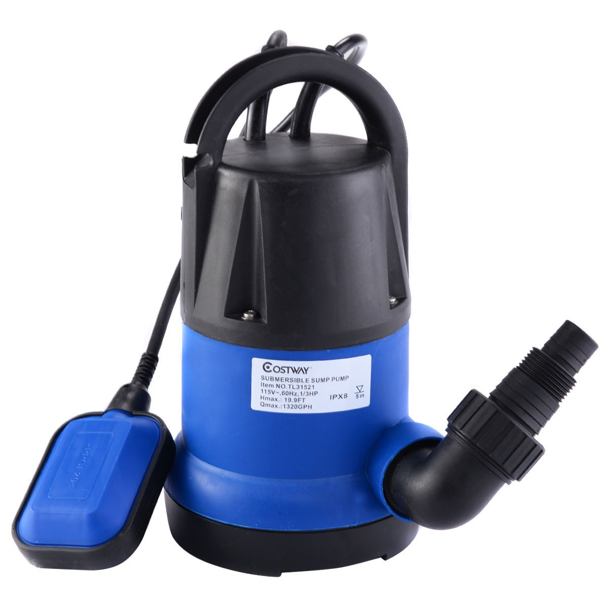 Best submersible clean water pump flooding pond swimming for Best rated pond pumps