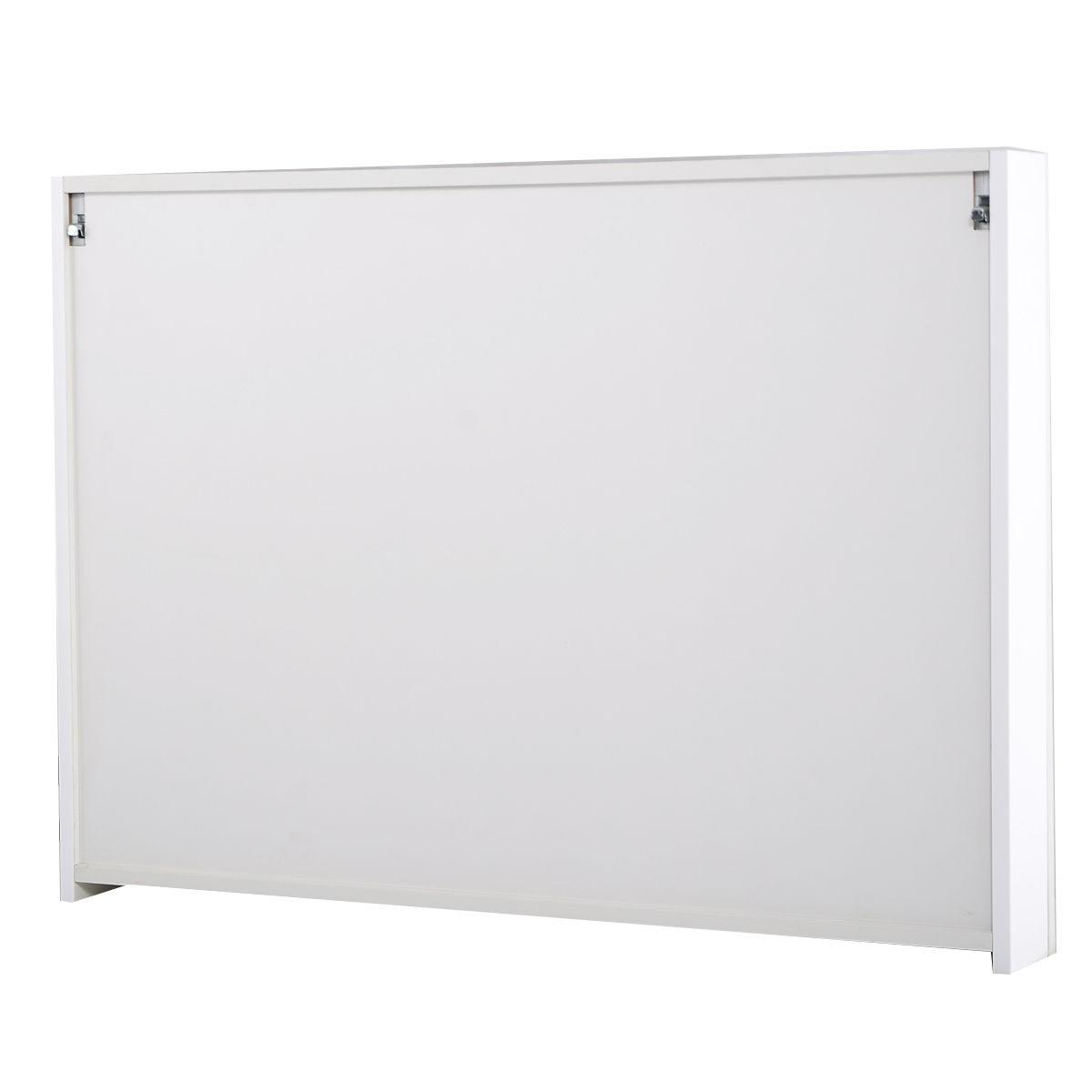 36 20 Wide Wall Mount Mirrored Bathroom Medicine Cabinet Storage 3 Mirror Door Ebay
