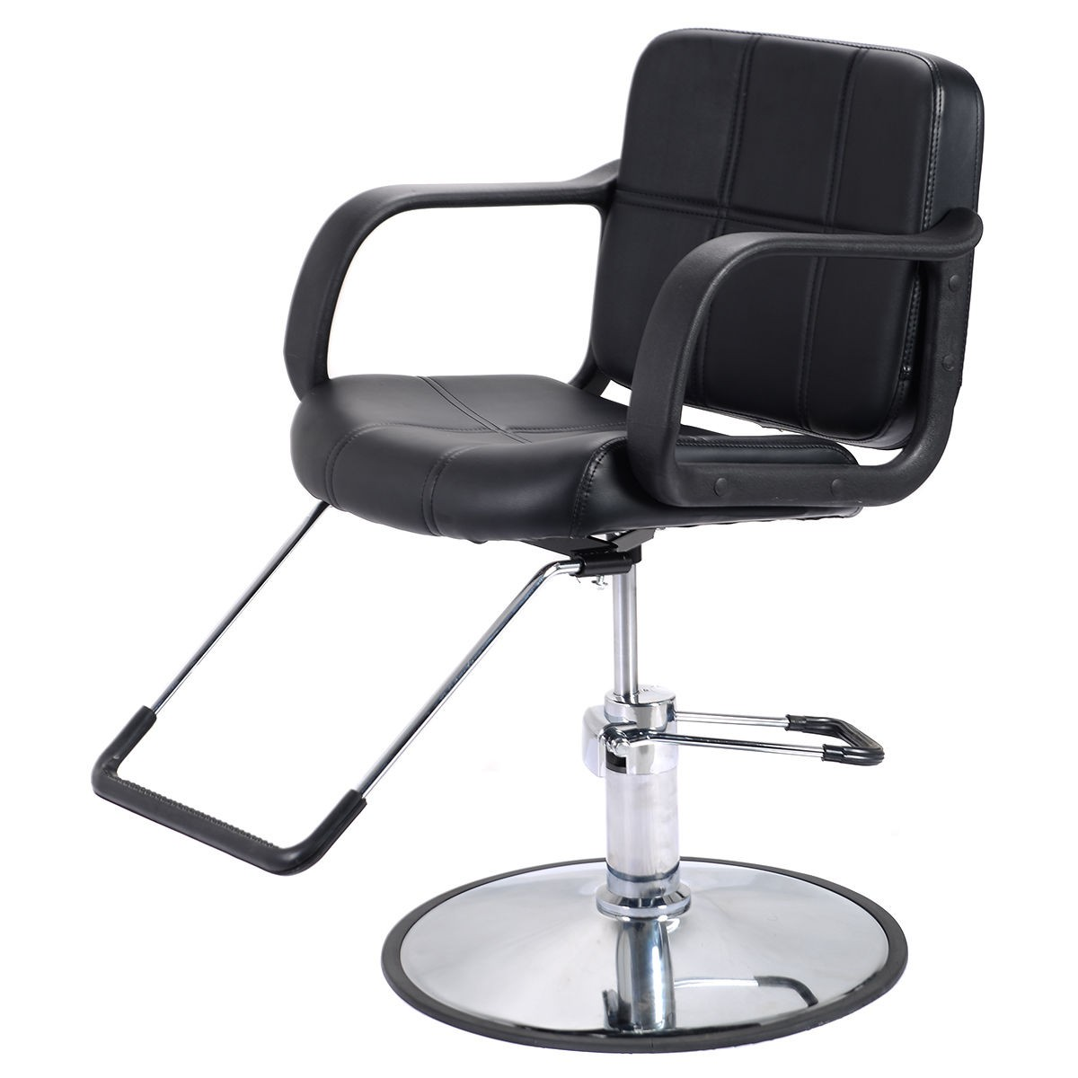 New Hydraulic Barber Chair Salon Beauty Spa Hair Styling Equipment Black EBay