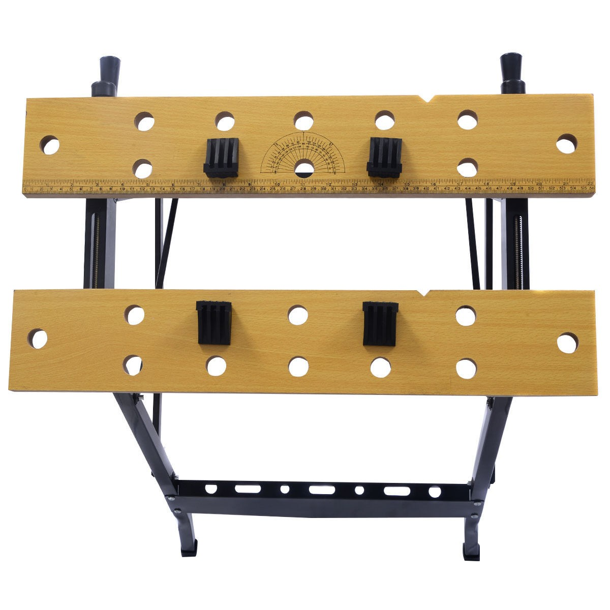 Portable Folding Work Bench Tool Table Garage Repair
