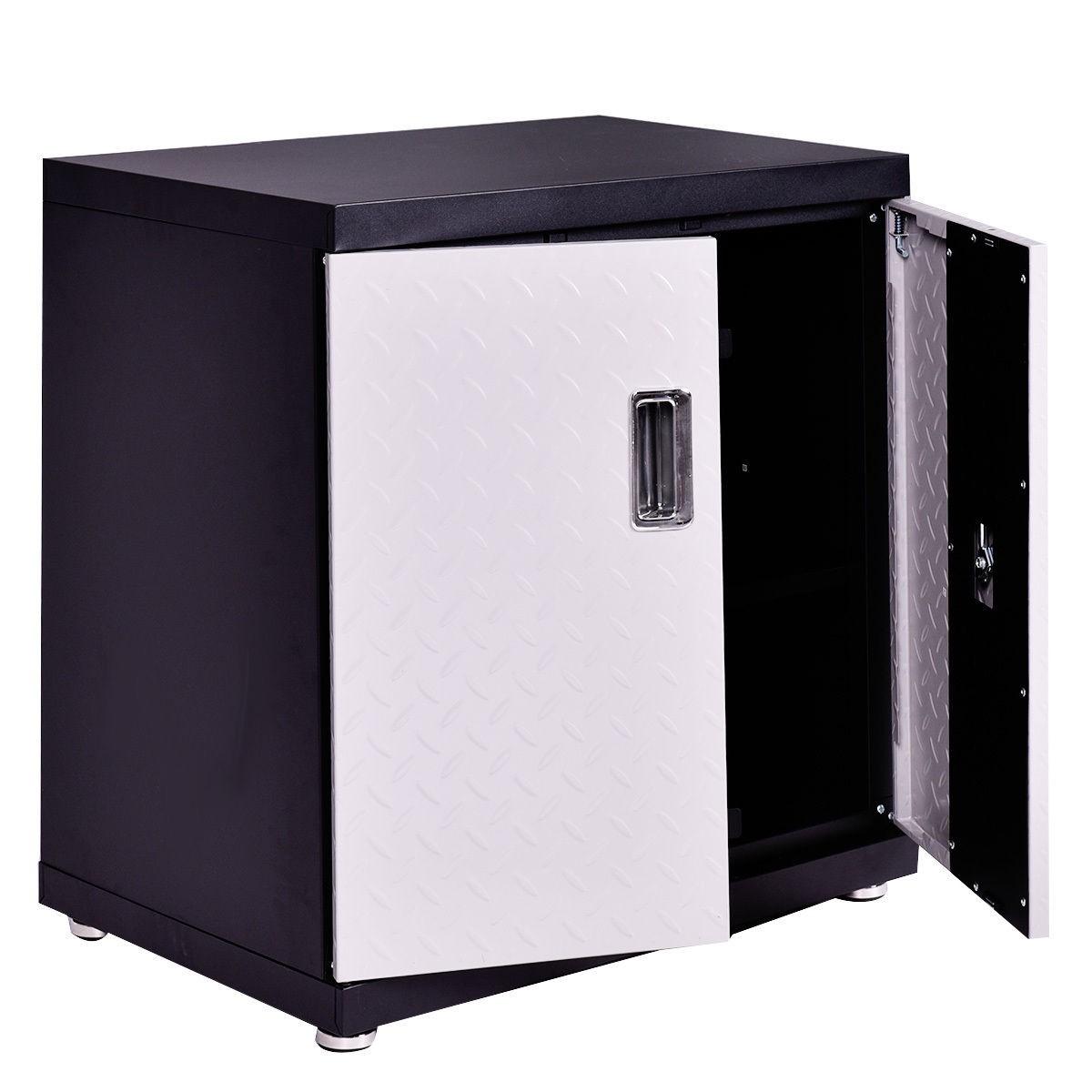 Saw Wall Mount Box : Wall mount cabinet metal garage steel storage box