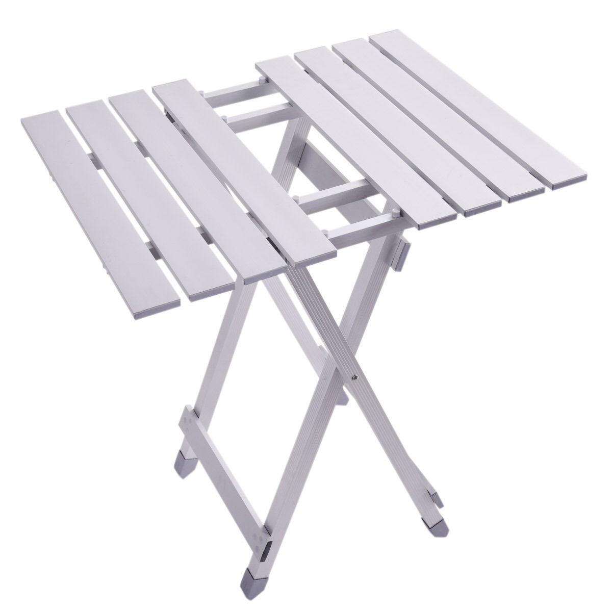 Portable Folding Table Roll Up Aluminum Alloy Picnic