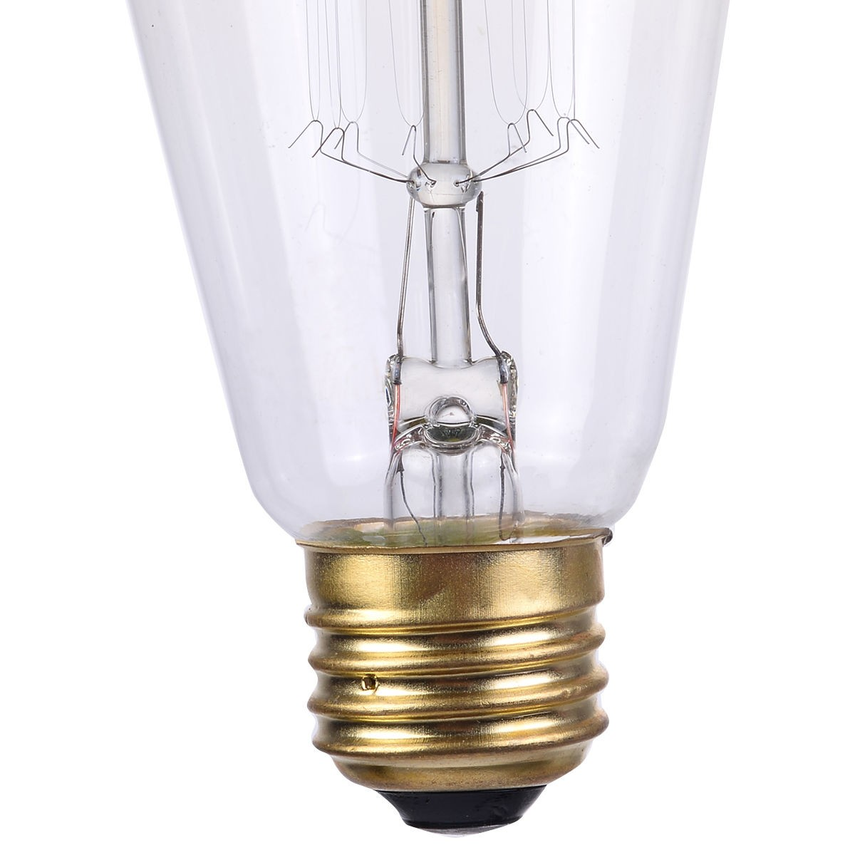 4pack light bulb squirrel cage filament e26 base vintage. Black Bedroom Furniture Sets. Home Design Ideas