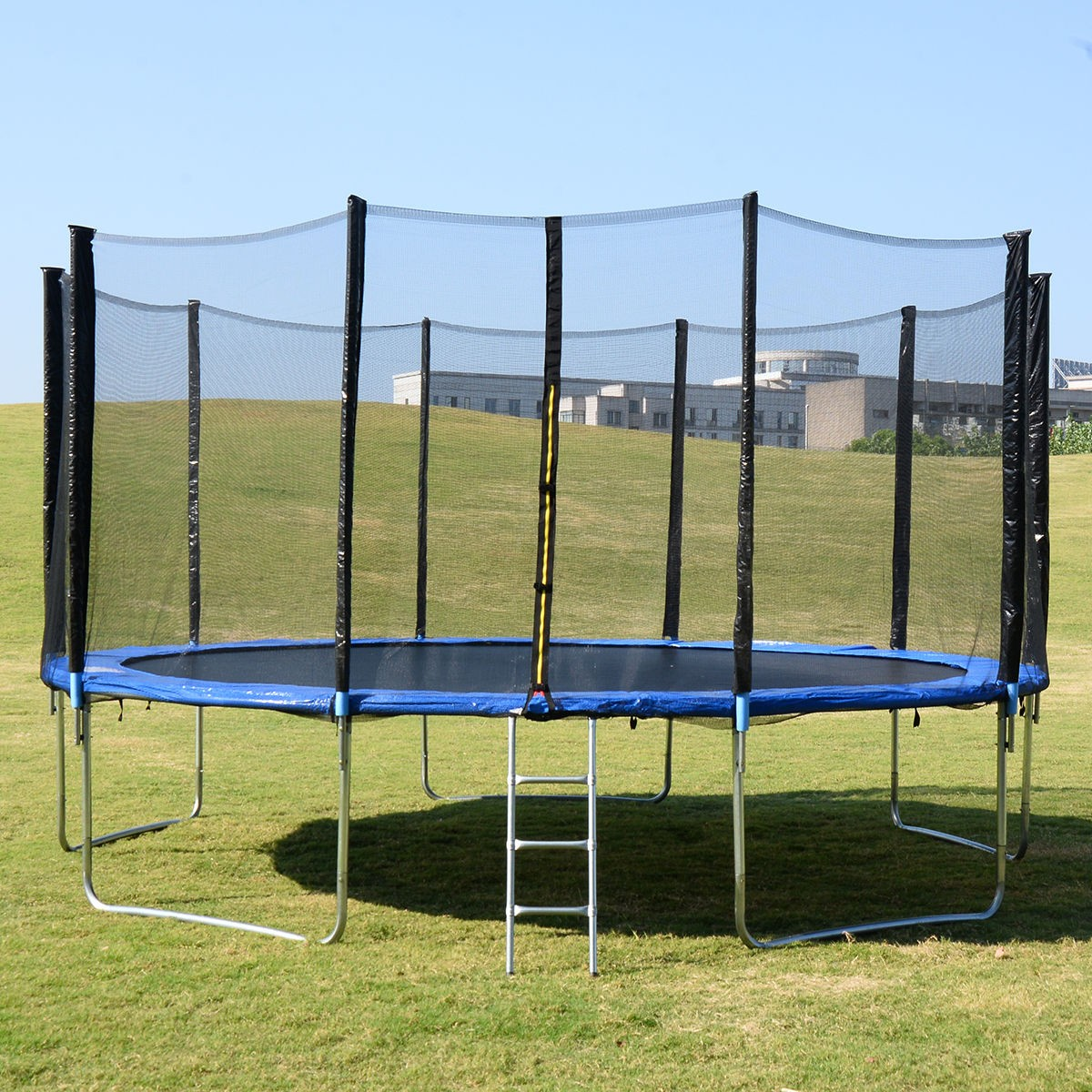 Jumpking Trampoline Ladder Instructions: 15FT Trampoline Combo Bounce Jump Safety Enclosure Net