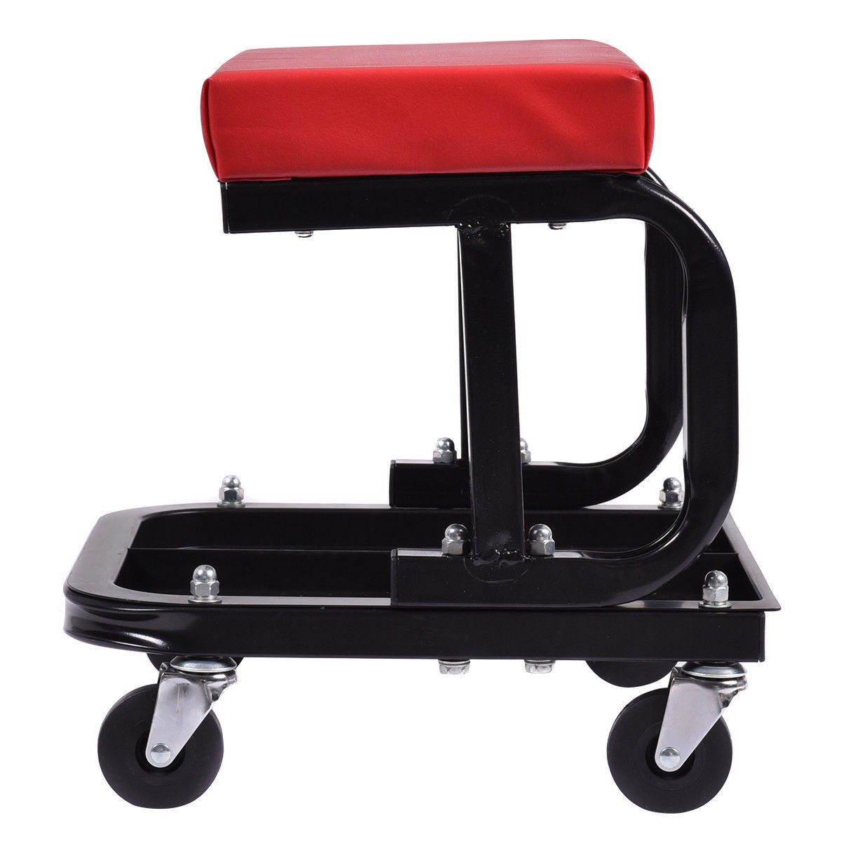 Creeper Seat Stool Mechanics Rolling Work Shop Tool Garage