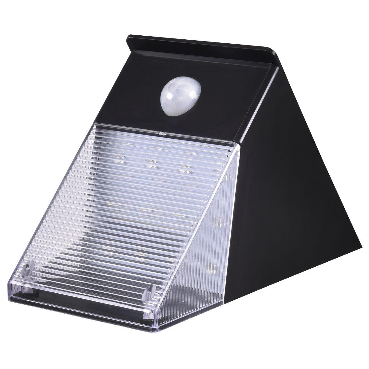 Waterproof Solar Power LED Dusk-to-Dawn Motion Sensor