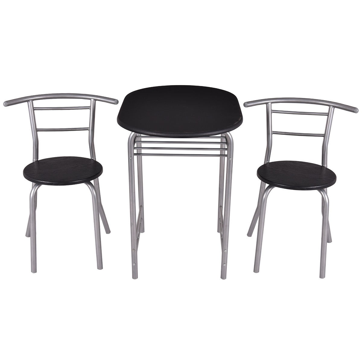2 Chairs 3 Bistro Dining Set Table and Kitchen Furniture