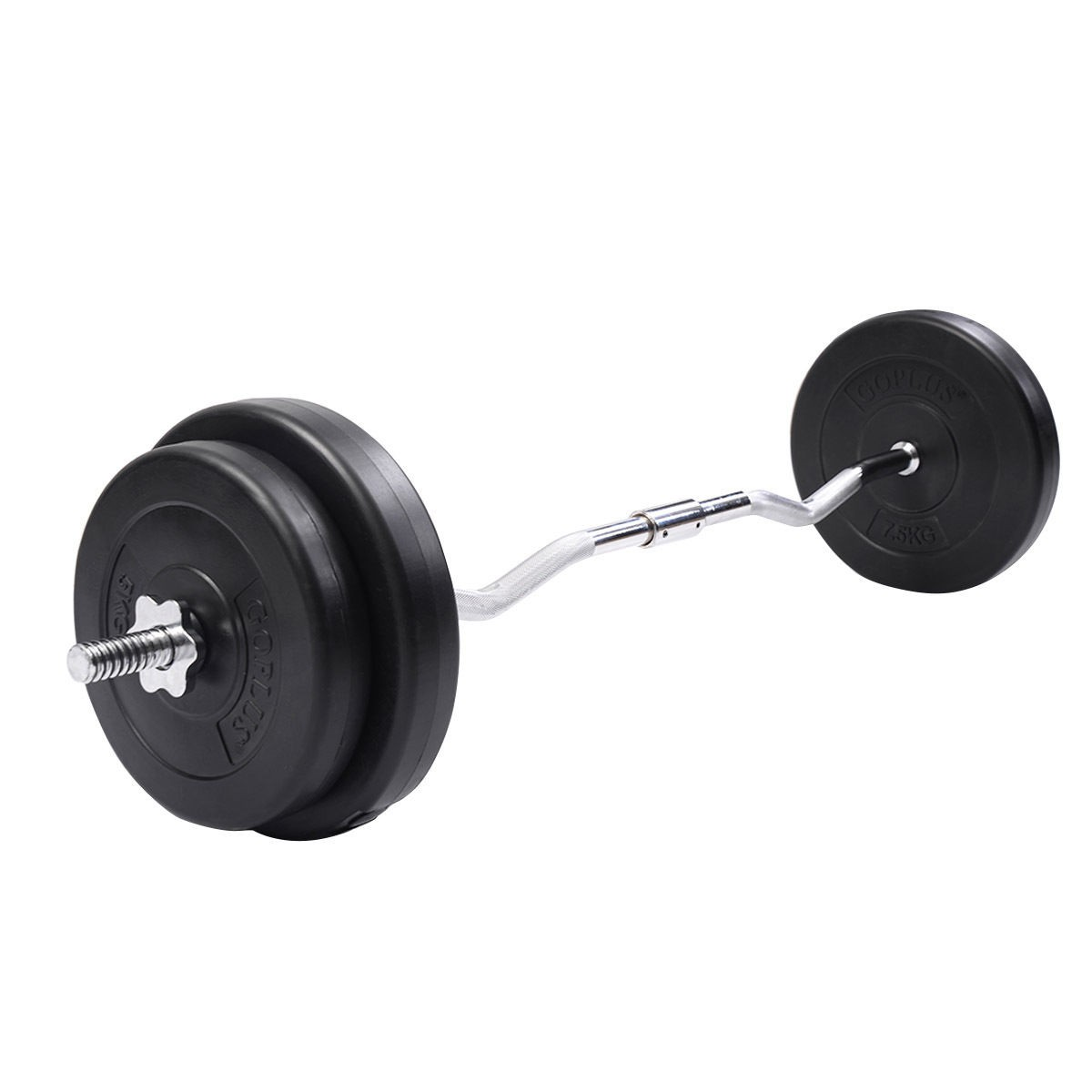 Cheapest Dumbbell Set: 64 LB Barbell Dumbbell Weight Set Gym Lifting Exercise