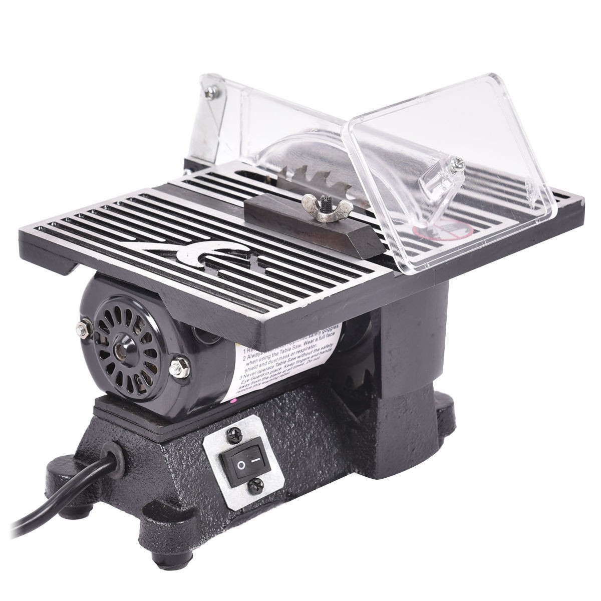 4 Mini Electric Table Saw Tablesaw 8500 Rpm Hobby And Craft Power Tools Ebay