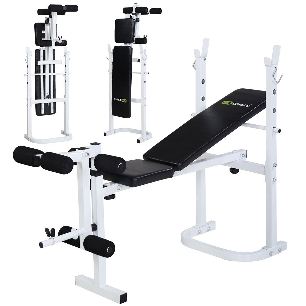 Folding Body Solid Olympic Weight Bench Incline Lift