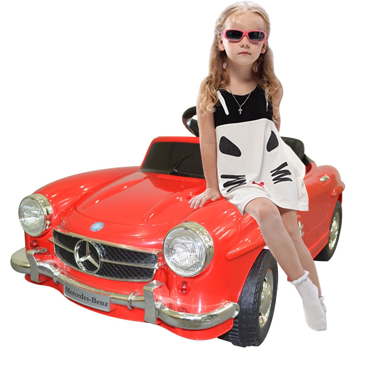 New mercedes benz 300sl amg rc electric toy kids baby ride for Mercedes benz ride on toy car