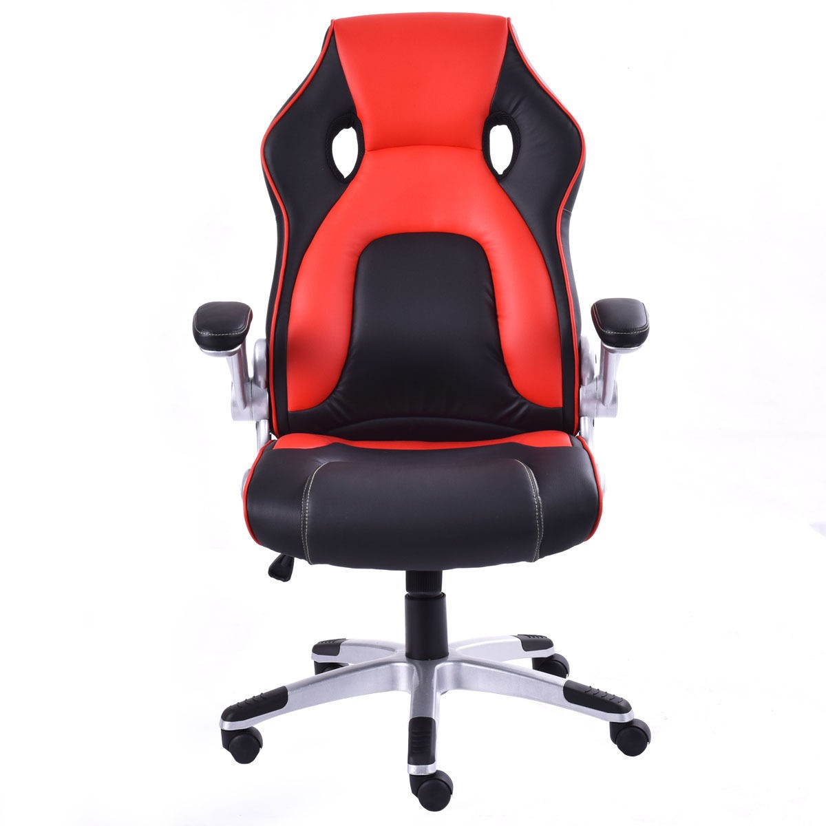 pu leather bucket seat office desk chair task computer