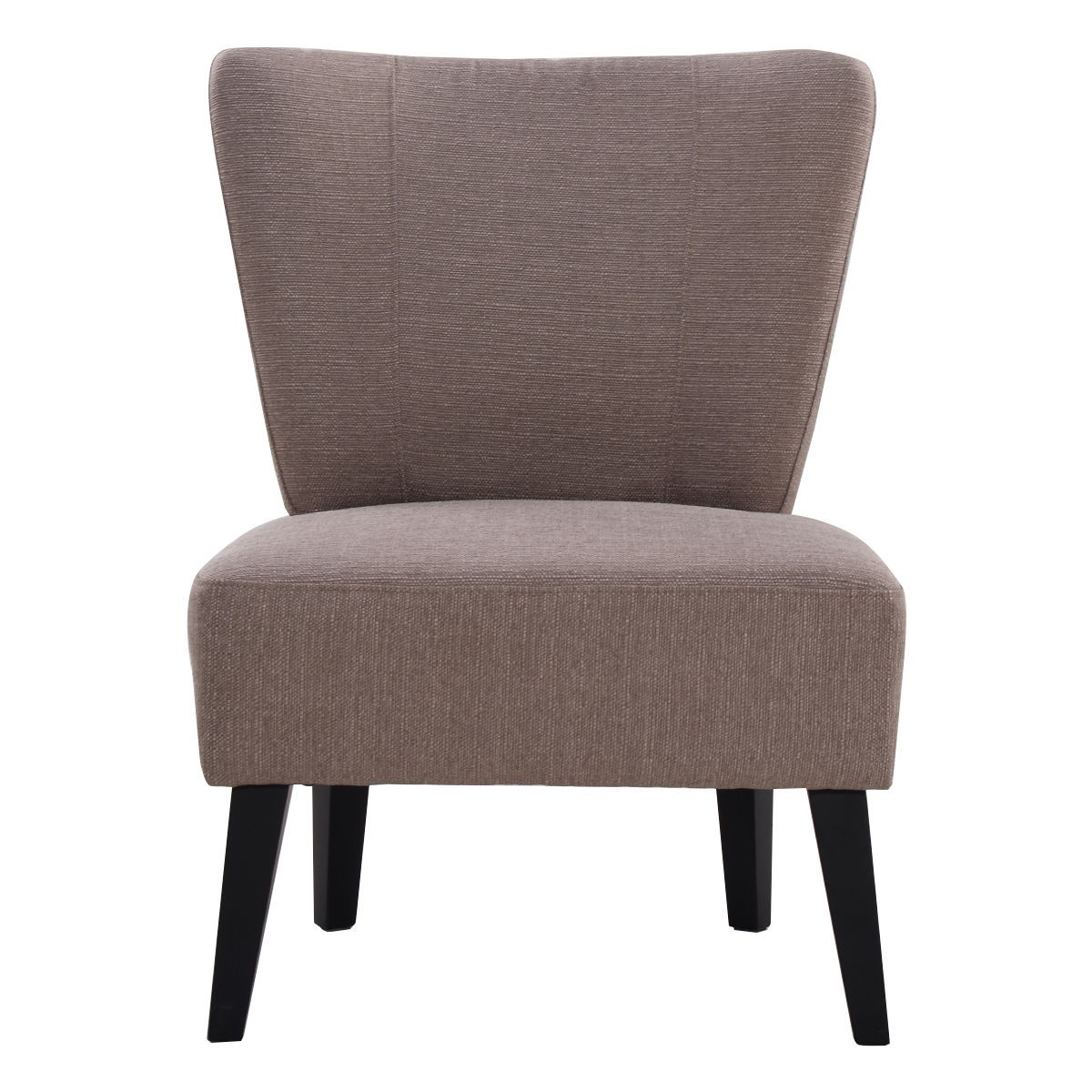 armless accent chair upholstered seat dining chair living room furniture ebay. Black Bedroom Furniture Sets. Home Design Ideas