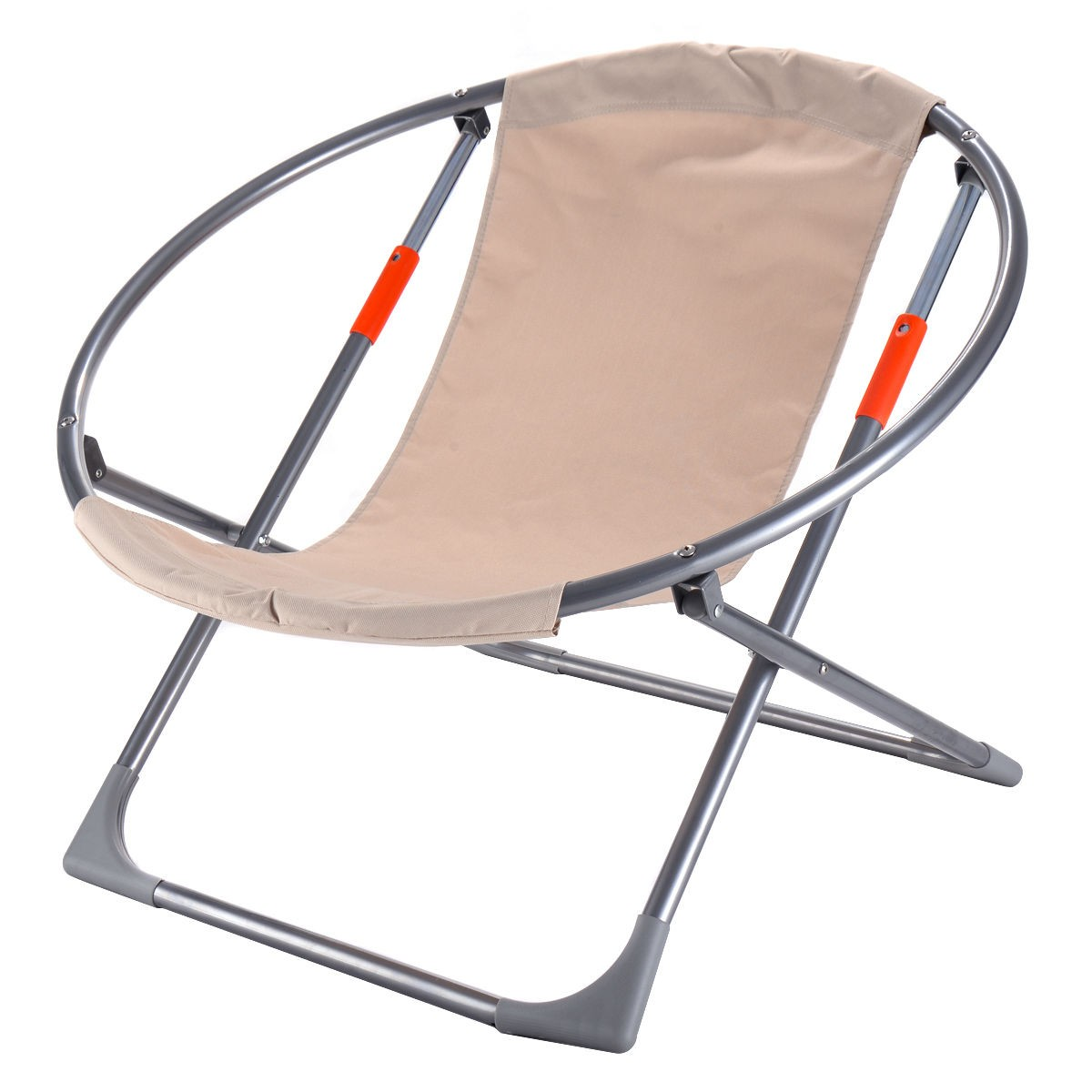 Us Home Oversized Large Folding Saucer Moon Chair Round