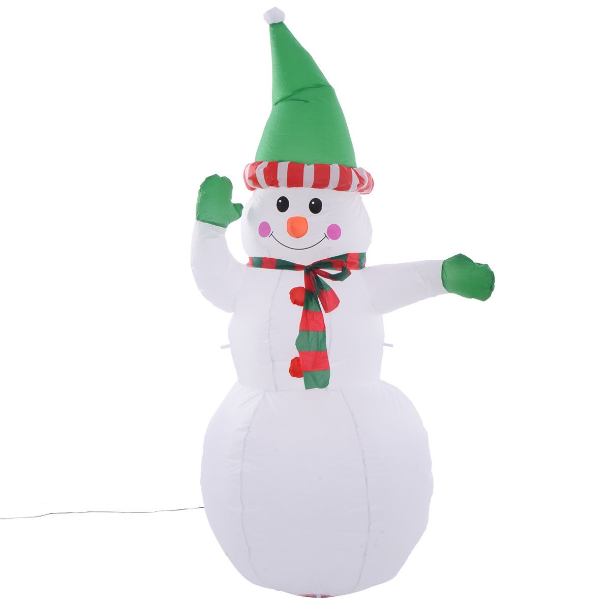 5ft airblown inflatable christmas decor snowman gemmy for Airblown christmas decoration