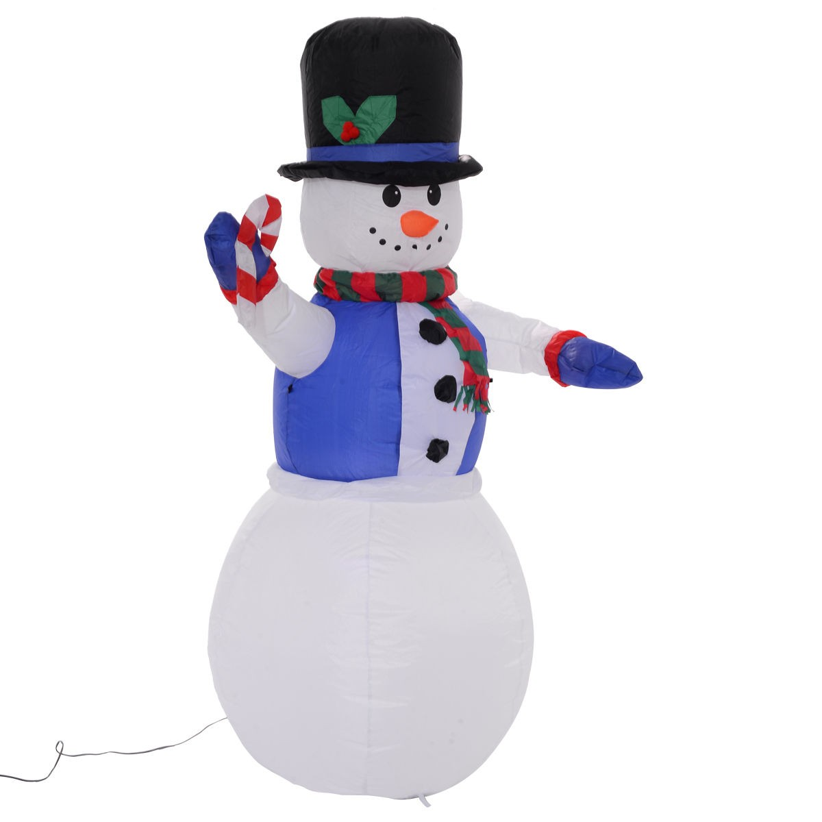 6 ft airblown inflatable christmas xmas snowman decor for Air blown decoration