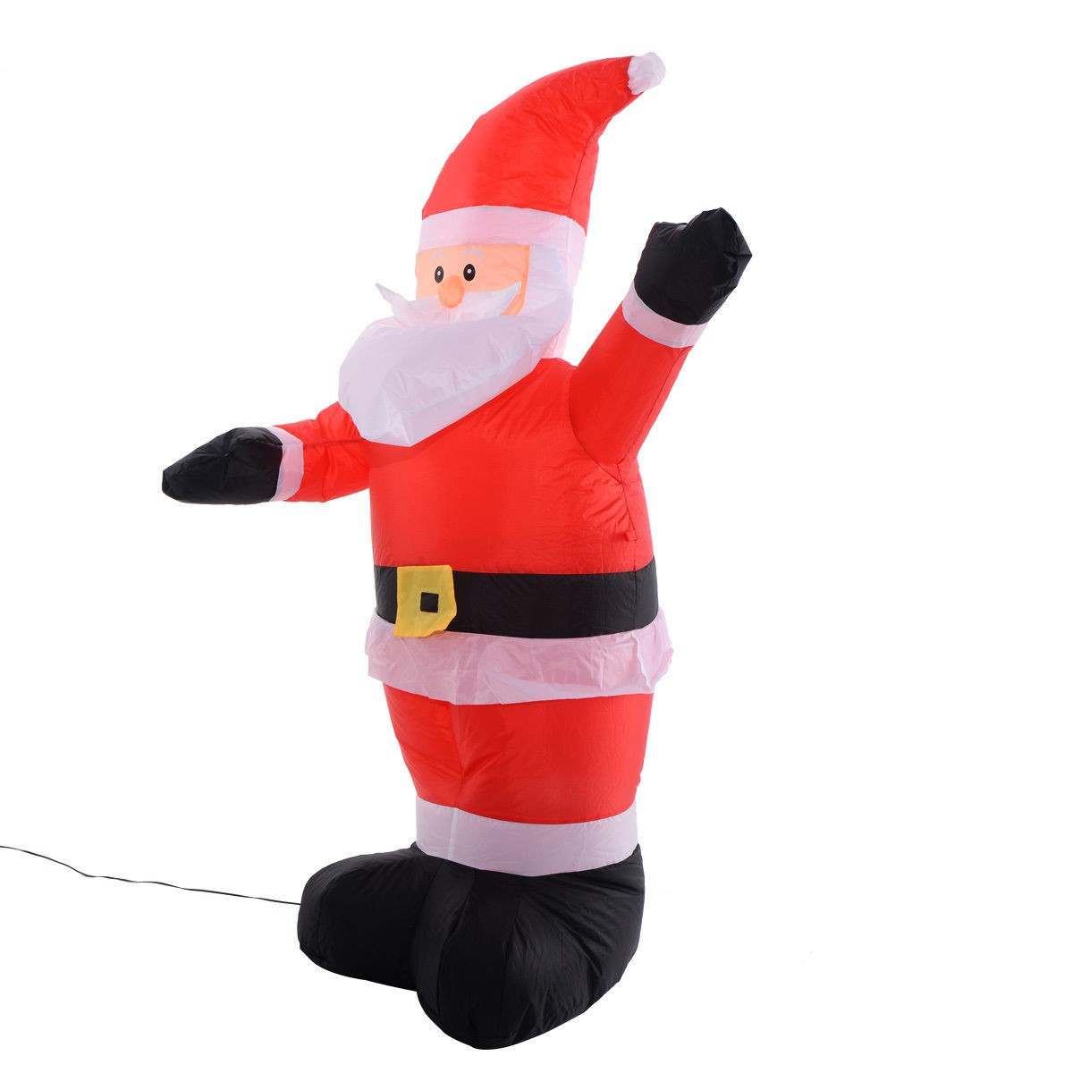 4ft airblown inflatable christmas santa claus lighted shop for 4 ft santa claus decoration