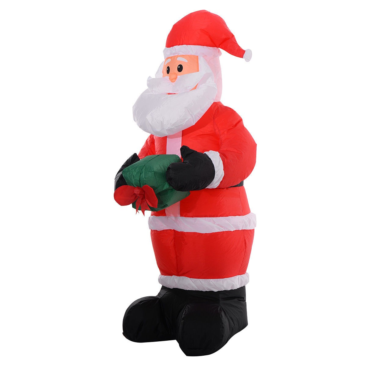 Santa Claus Lawn Decorations: Inflatable Airblown Christmas Santa Claus Xmas Decoration