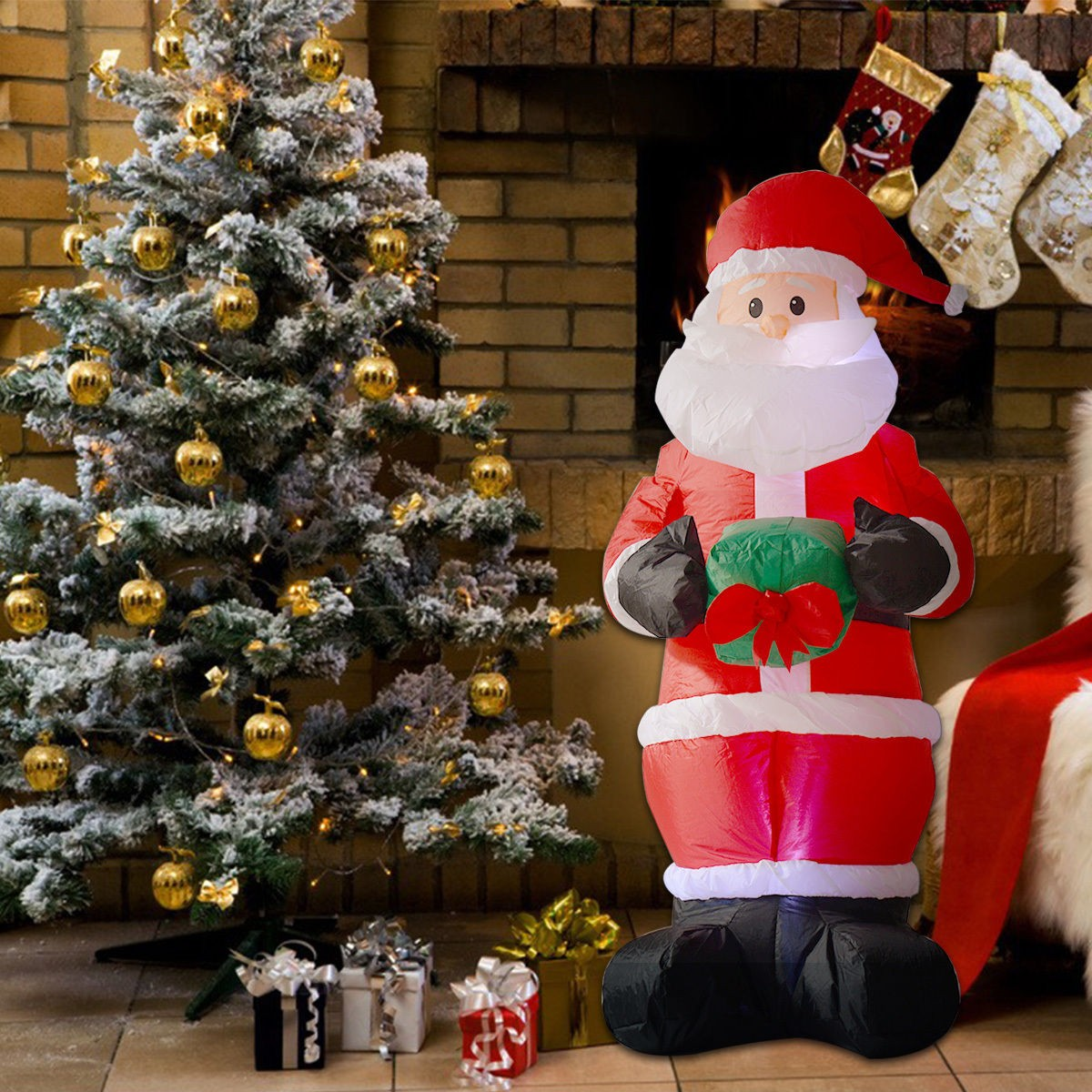 Santa Claus Lawn Decorations