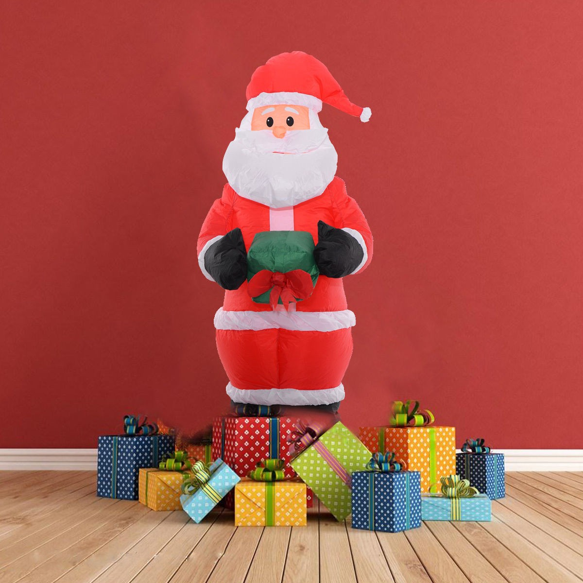Inflatable airblown christmas santa claus xmas decoration for Air blown decoration