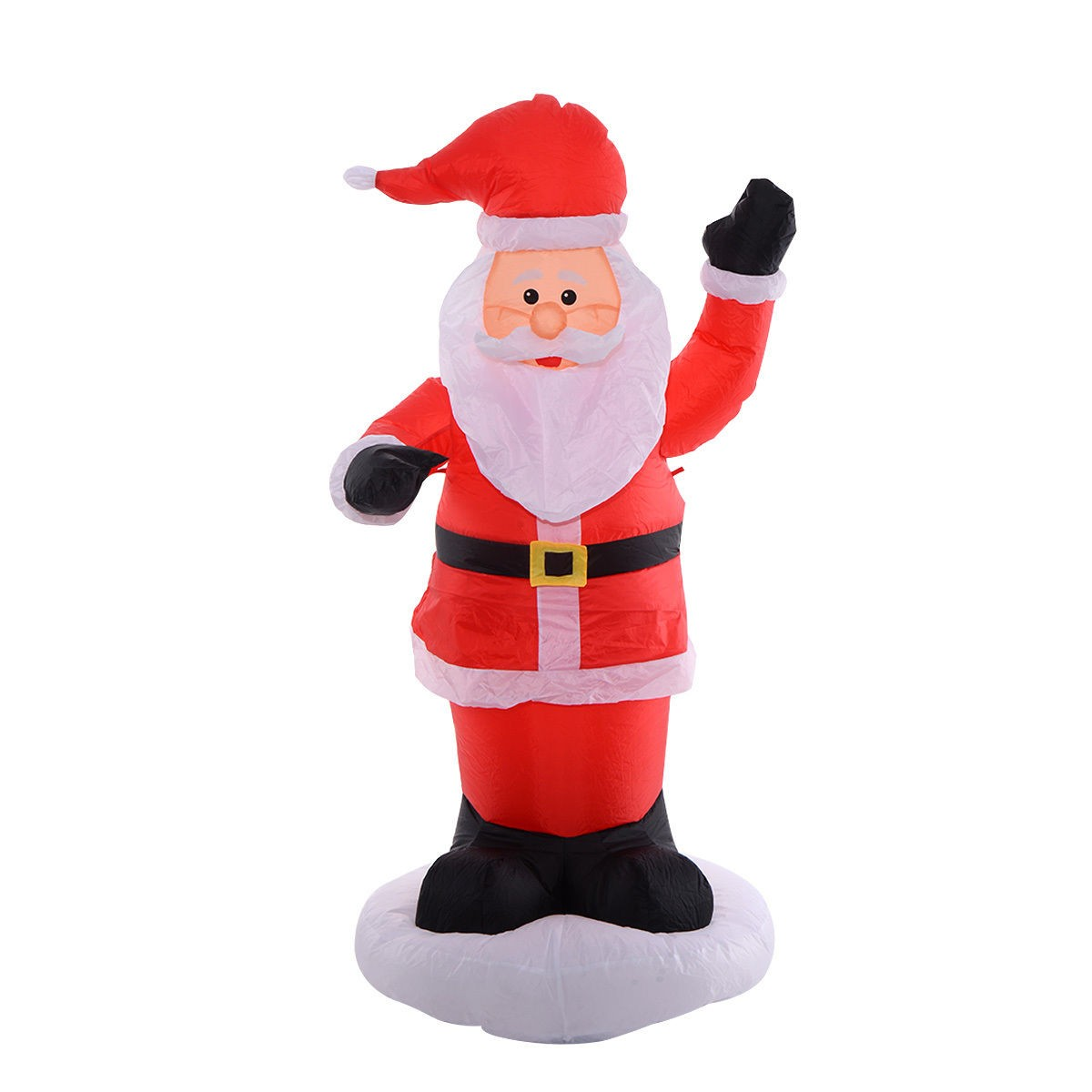 Santa Claus Lawn Decorations: 6Ft Airblown Inflatable Christmas Xmas Santa Claus Outdoor