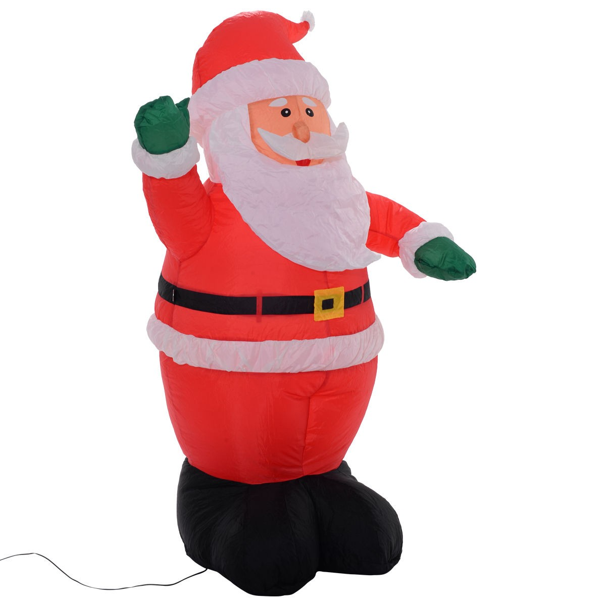 Santa Claus Lawn Decorations: Outdoor 5 Ft Airblown Inflatable Christmas Xmas Santa