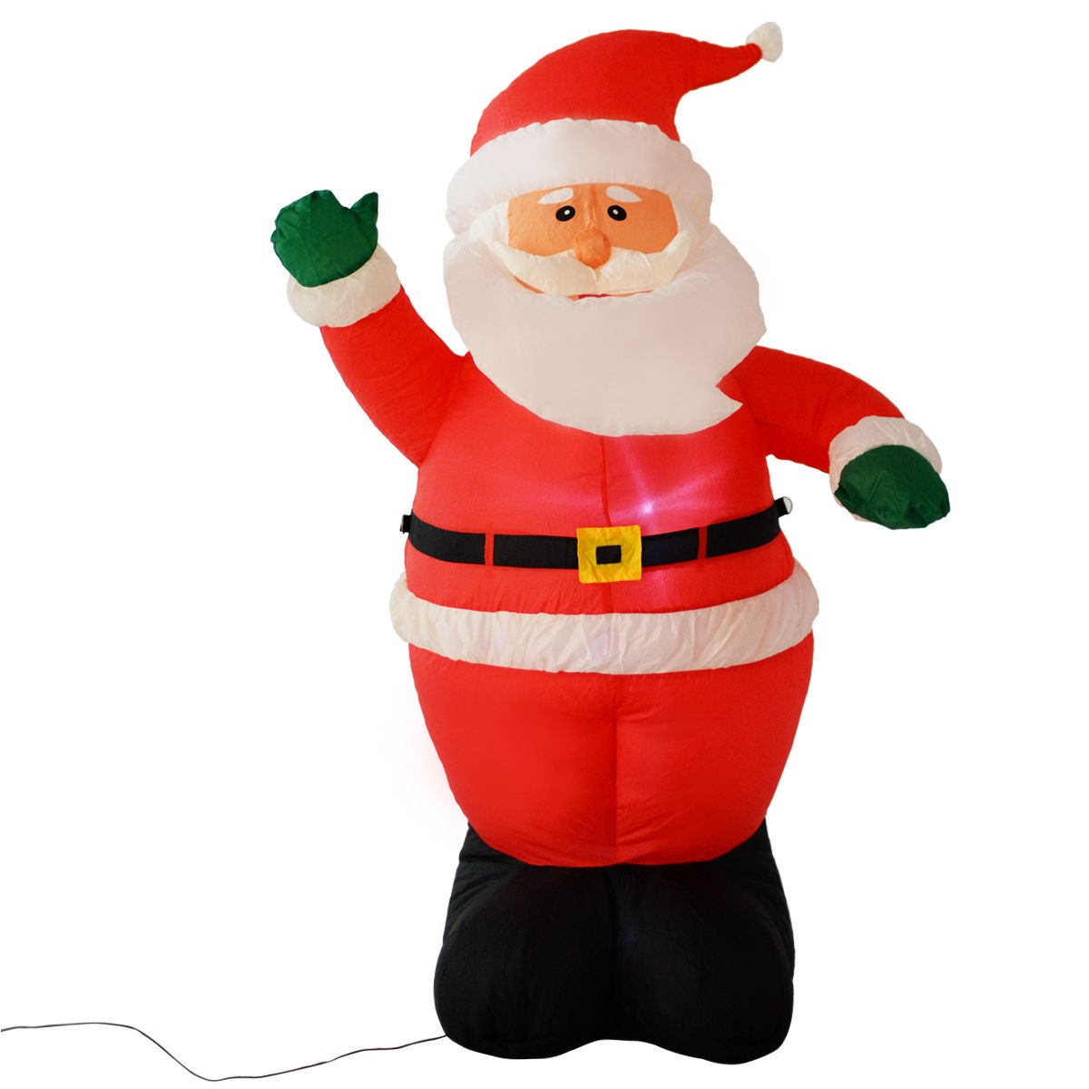 Santa Claus Lawn Decorations: Christmas Airblown Inflatable Xmas Santa Claus Decoration