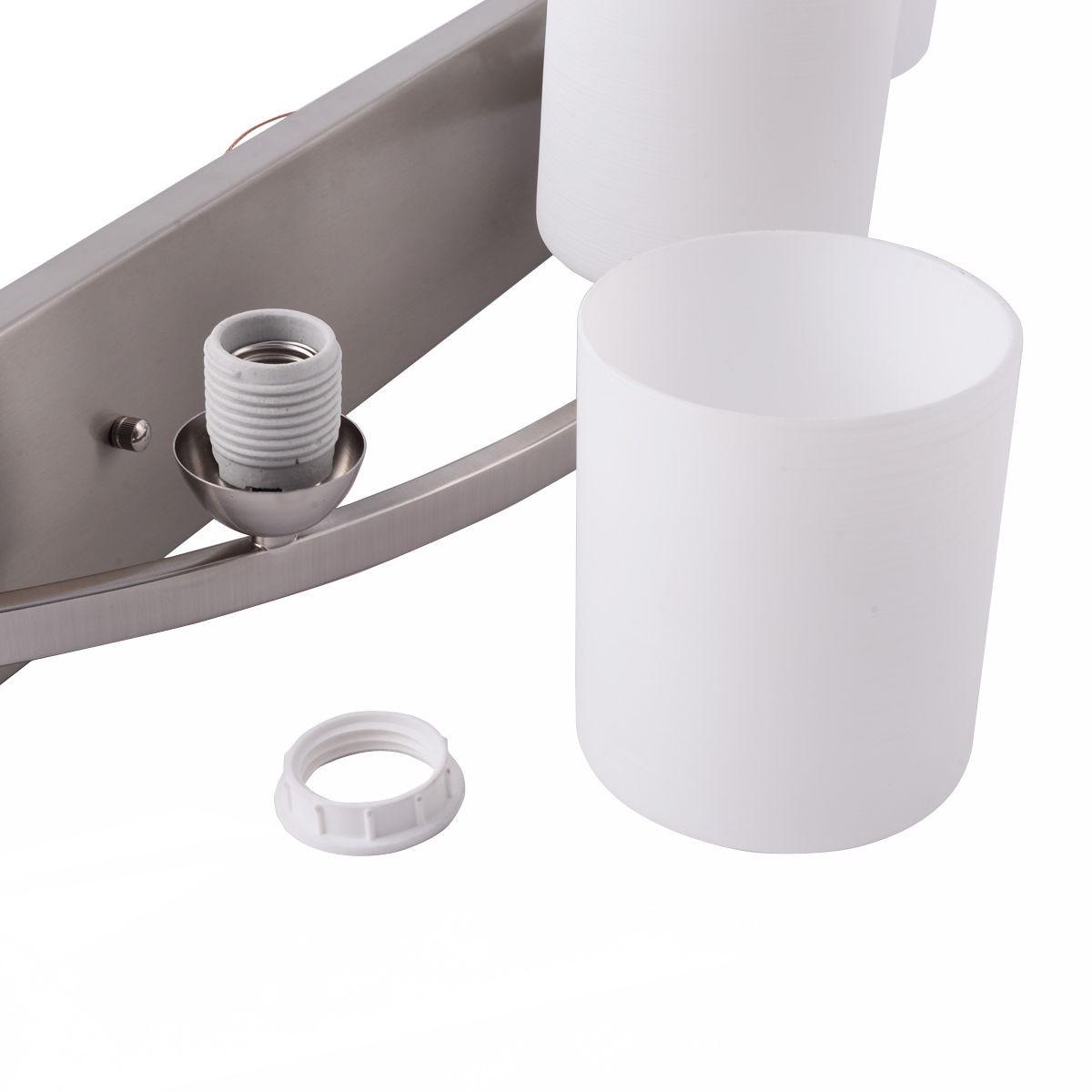 Bathroom Vanity Lights Too Hot : 3 Light Glass Wall Sconce Lampshade Pendant Fixture Vanity Metal Bathroom Hot