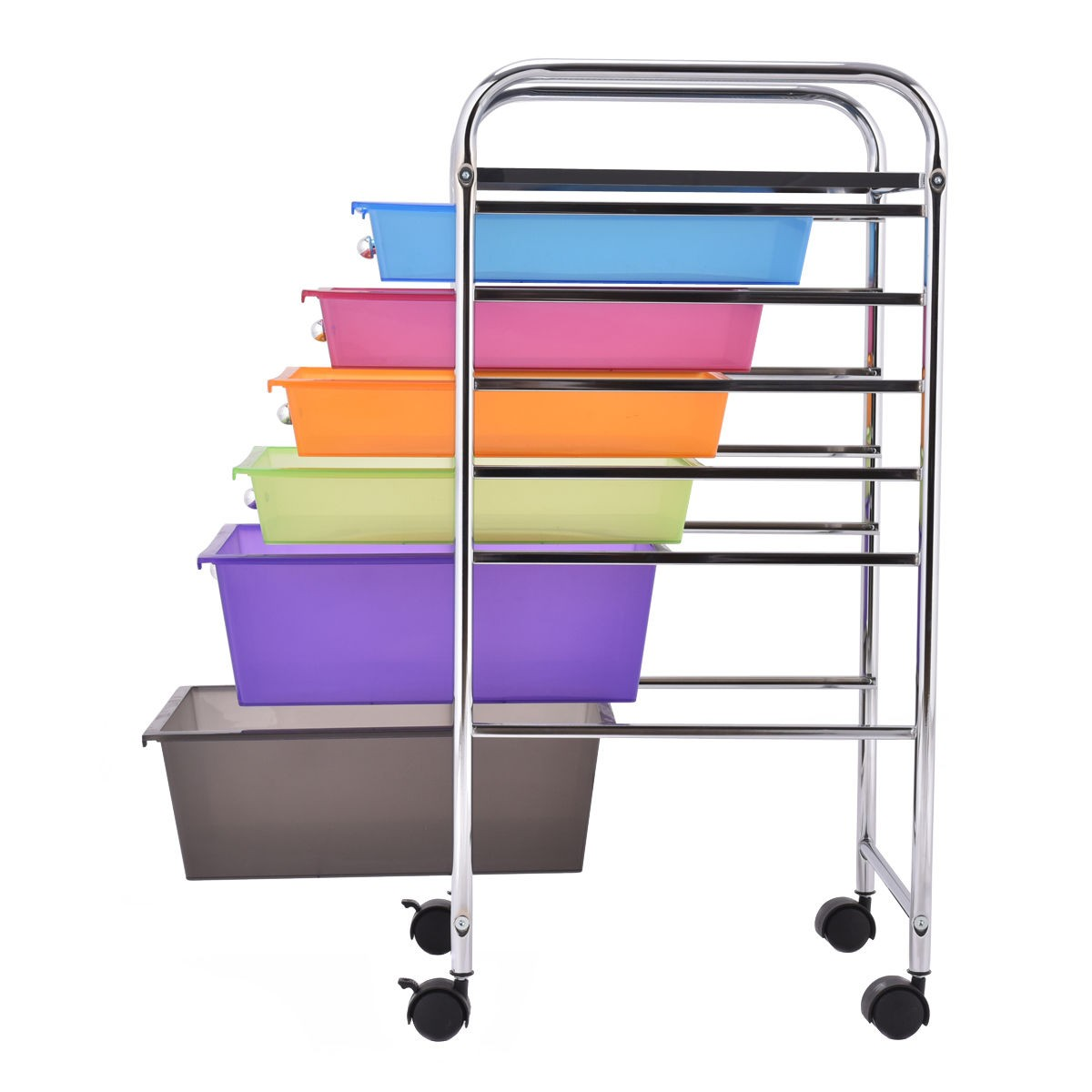 Us 6 Drawer Rolling Storage Cart Tools Scrapbook Paper