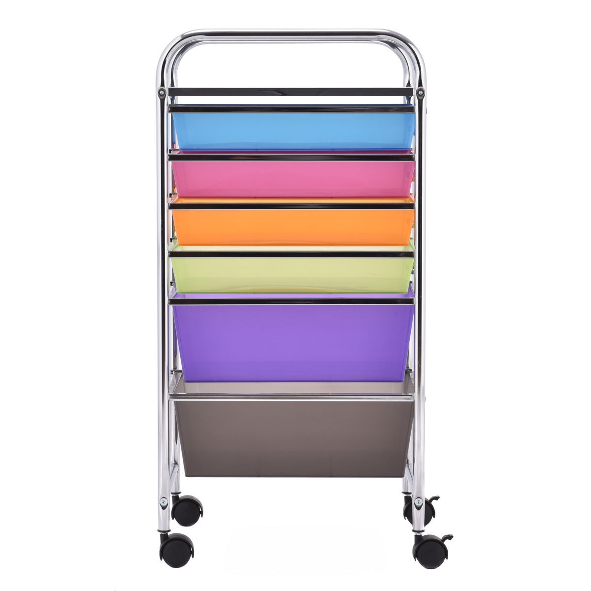 us 6 drawer rolling storage cart tools scrapbook paper