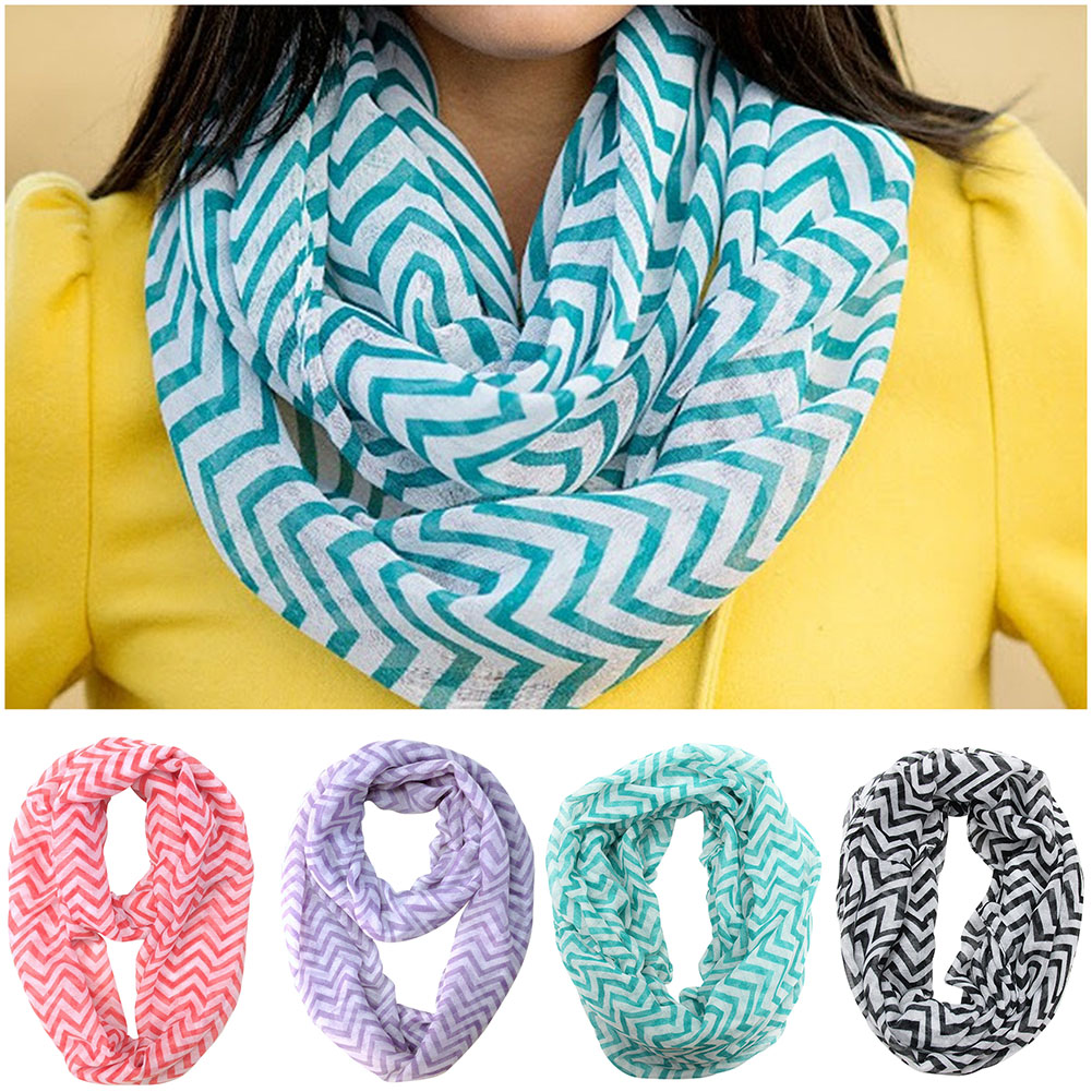 how to make a sheer infinity scarf