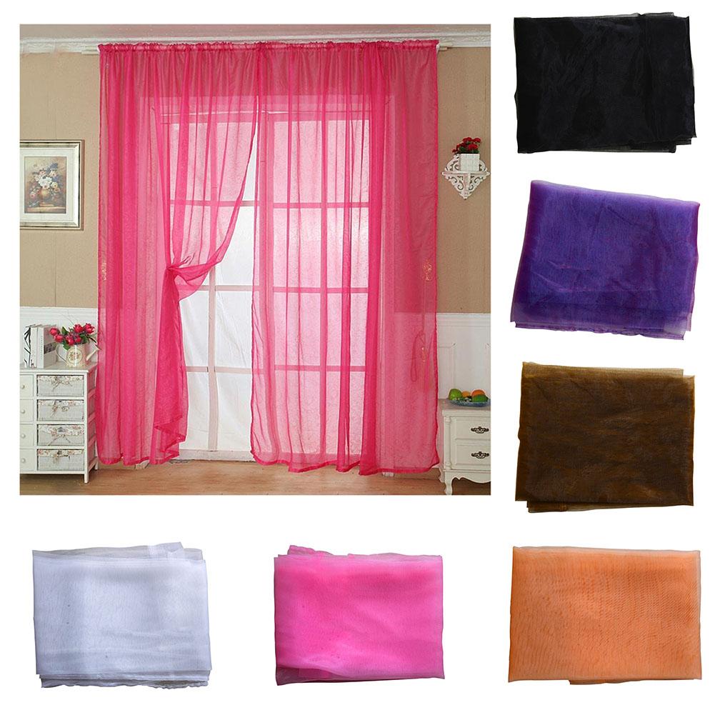 t ll t r fenster vorhang dransein panel durchsichtig schal. Black Bedroom Furniture Sets. Home Design Ideas