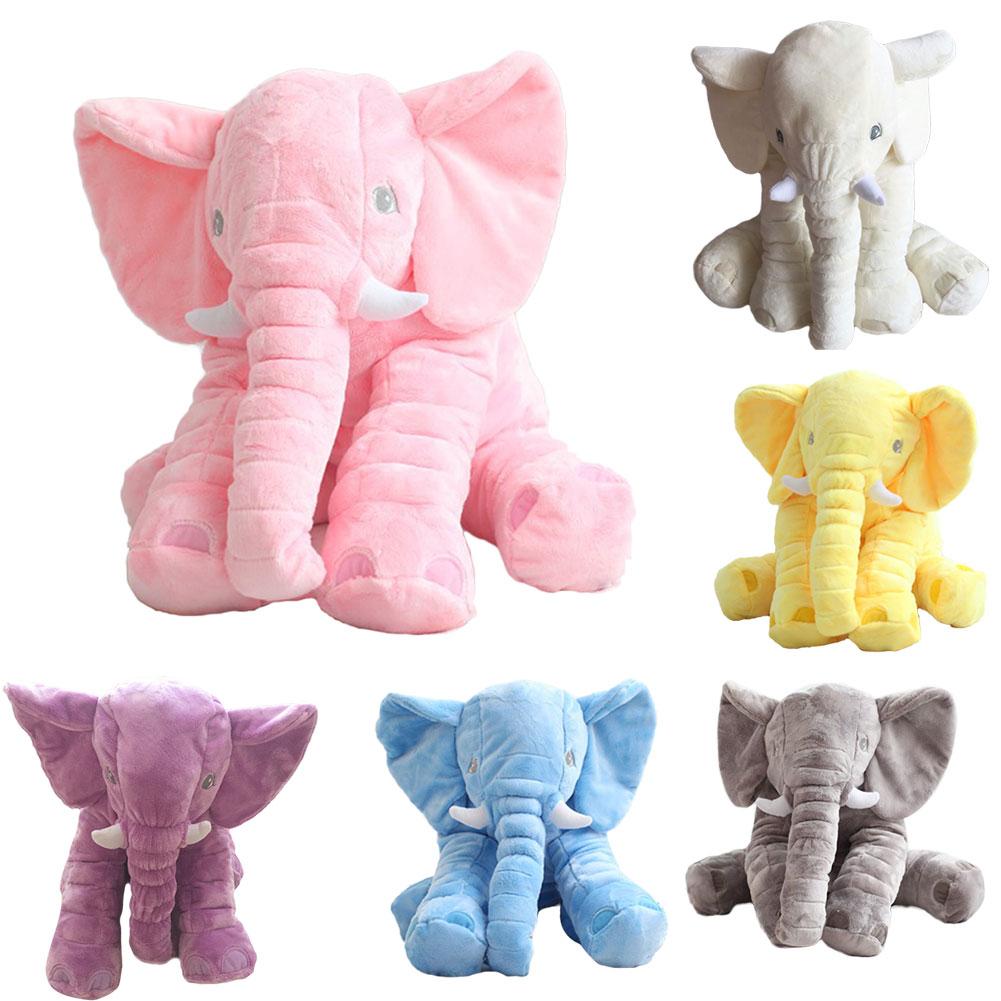 Infant Soft Elephant Playmate Calm Doll Plush Stuffed Doll Baby Toys Pillow 60cm eBay