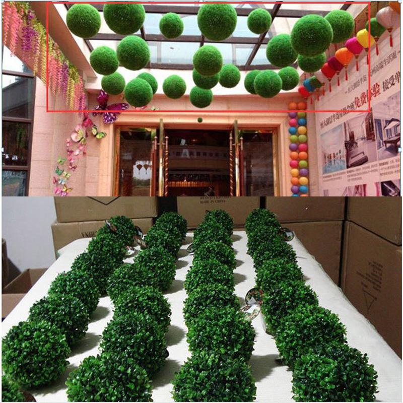Artificial Plant Ball Tree Boxwood Wedding Event Home