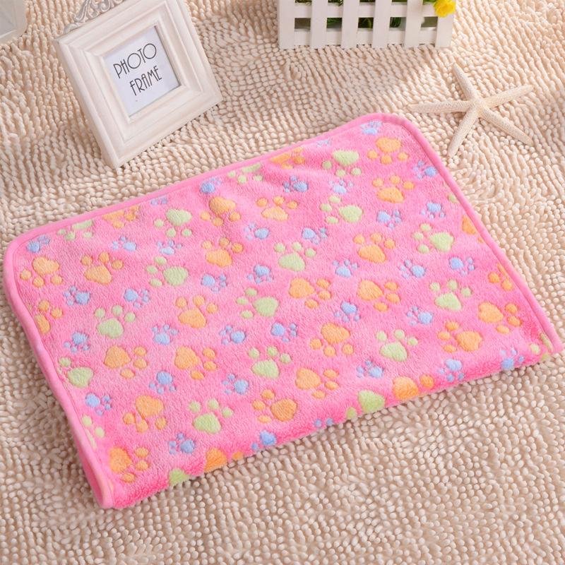 Confortable doux animal chat tapis pour chien chiot chaud couverture polaire - Confortable en anglais ...