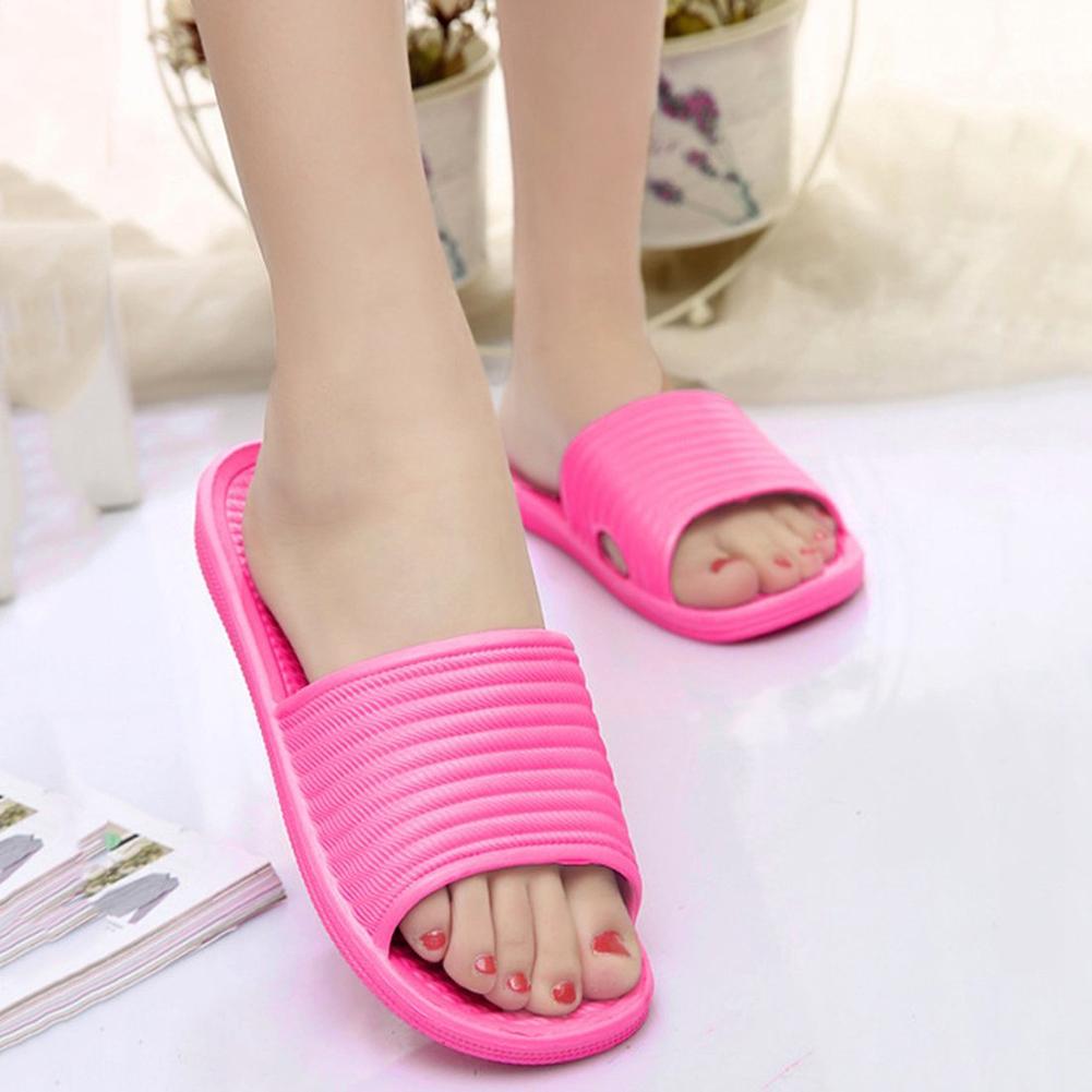 Women Anti-Slip Sandals Slide Slippers Summer Cool ...