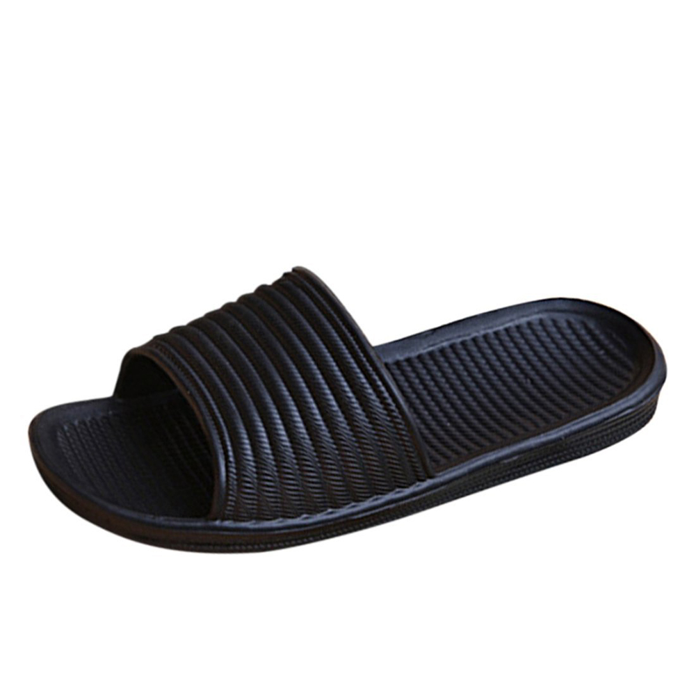 Fashion mens anti slip sandals slide slippers cool for Bathroom safety shower shoes