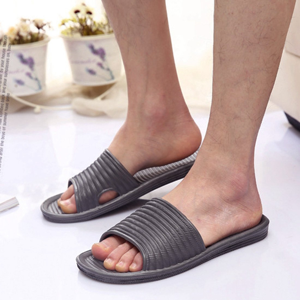 fashion unisex home bath anti slip sandals slide slippers