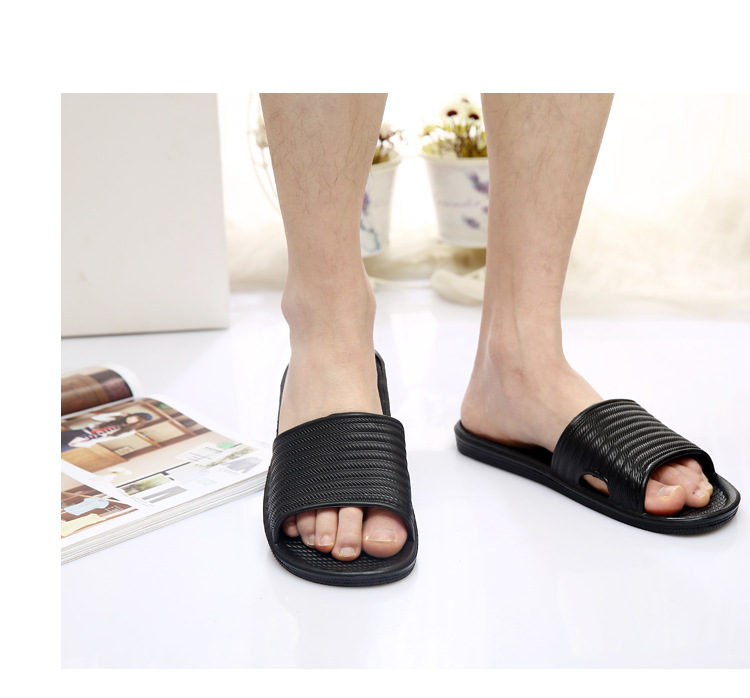 unisex indoor home anti slip sandals slide slippers