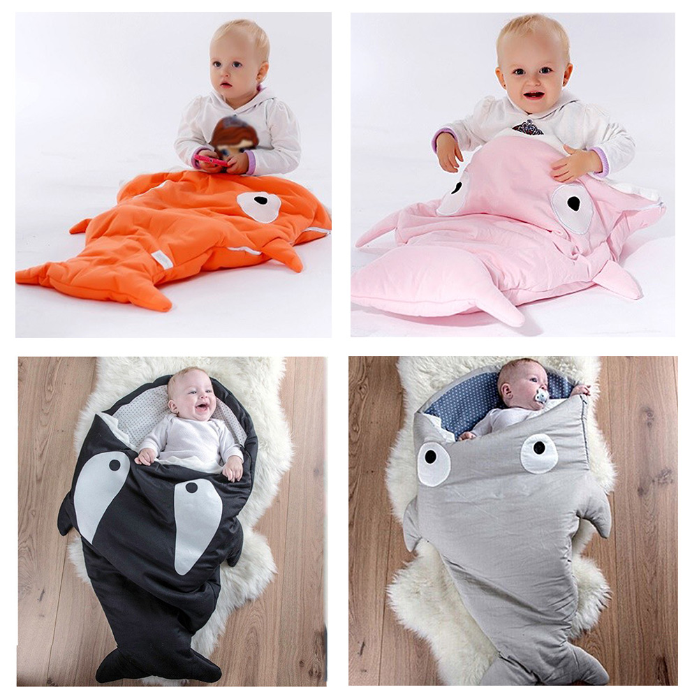winter baby kleinkinder shark pucken decke wickel schlafsack sleepsacks ebay. Black Bedroom Furniture Sets. Home Design Ideas