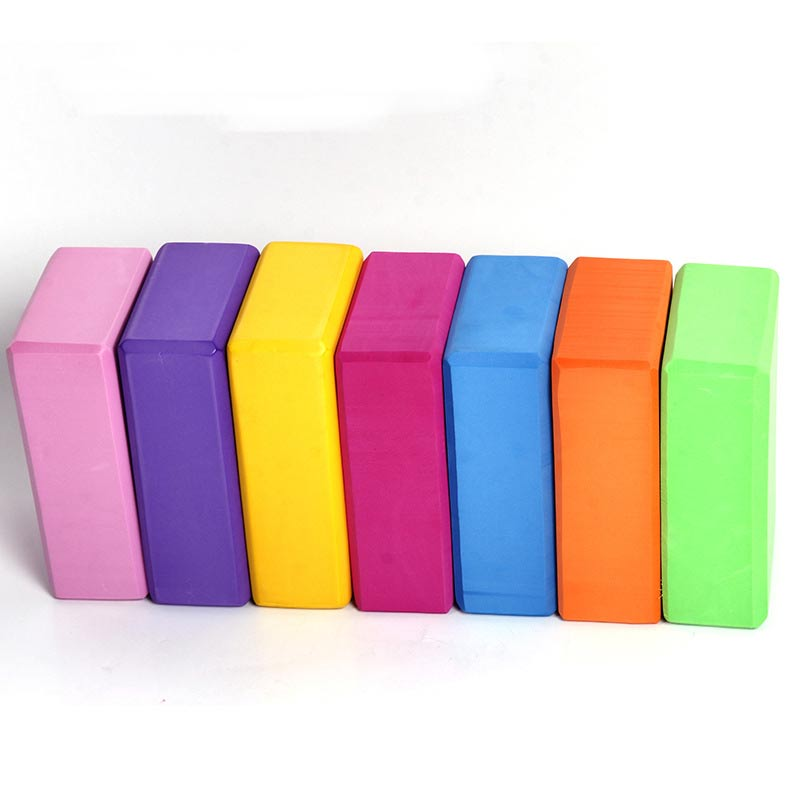 Hot Yoga Brick Pilates Foam Block Home Stretching Aid Tool