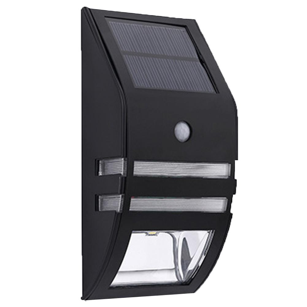 waterproof solar powered led motion sensor lamp pathway. Black Bedroom Furniture Sets. Home Design Ideas