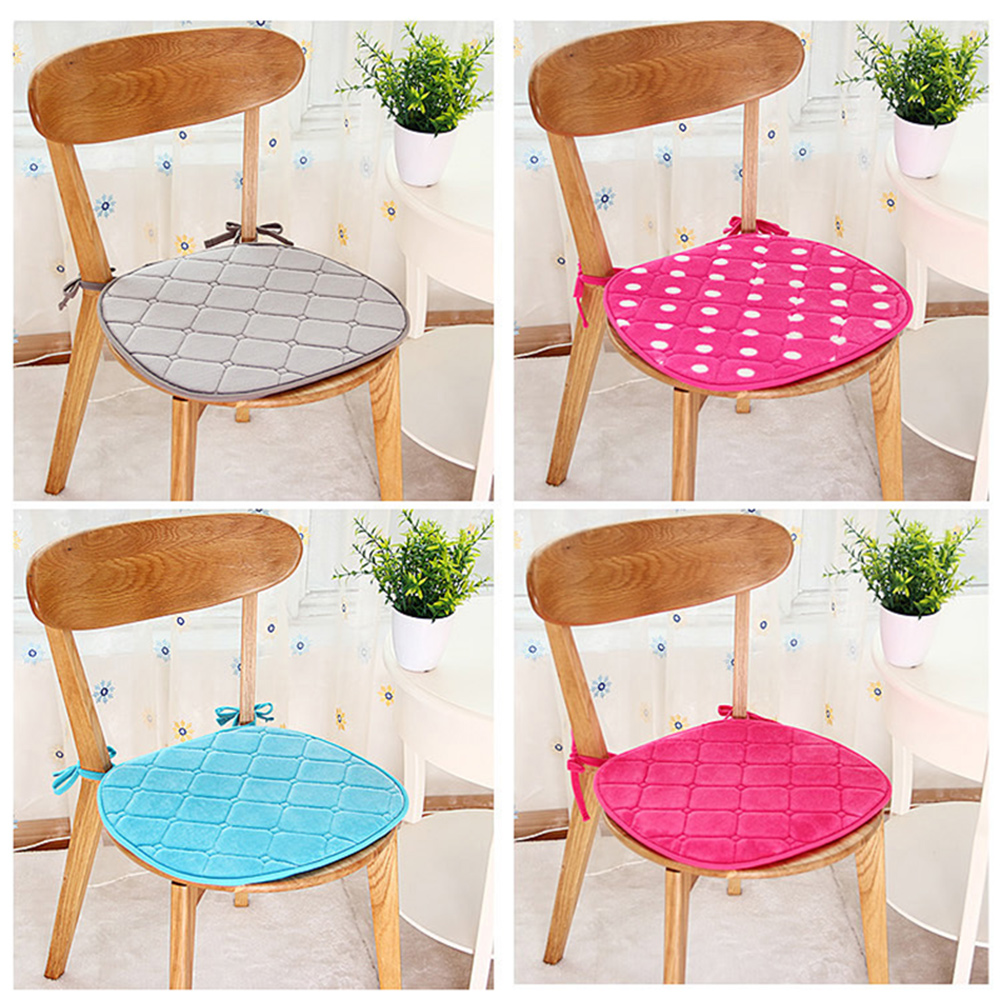 Flannel Seat Sofa Mat Home Kitchen Office Chair Seat Pad