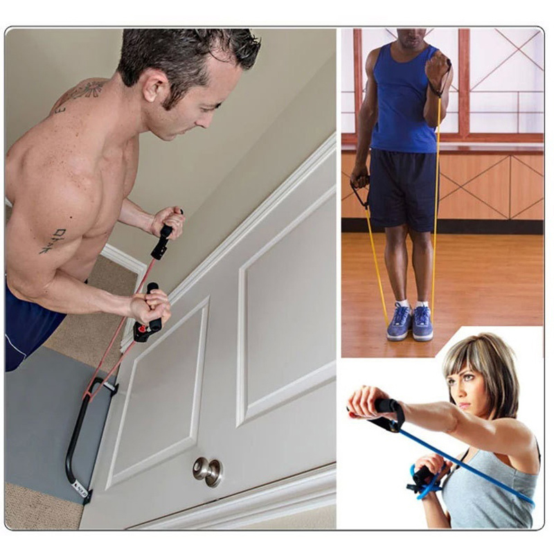 Resistance Bands Treadmill Workout: New Training Pull Rope Resistance Band Elastic Equipment