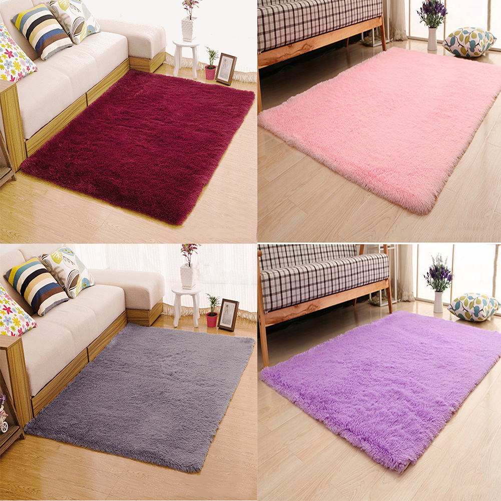 Morden Area Rugs Pads Soft 4.5 CM Thick Indoor Blanket For