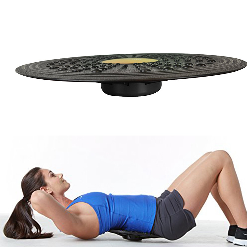 Balance Board Exercises For Knee: Yoga Fitness Wobble Balance Board Stability Disc Ankle